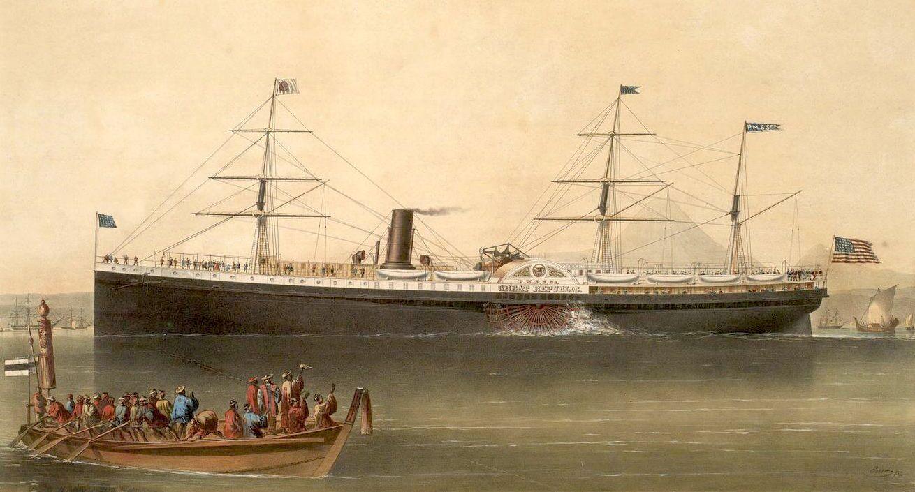 Pacific Mail Steam Ship Company's steamer Great Republic