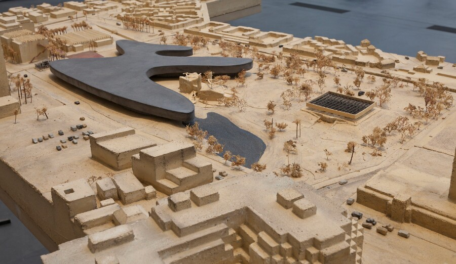 A 2013 model of LACMA's future design by architect Peter Zumthor. | Photo: © 2013 Museum Associates/LACMA.
