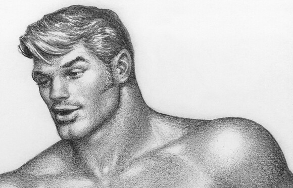 Untitled (No.1 from Cyclist and the Farm Boy series), 1973, Courtesy Tom of Finland Foundation