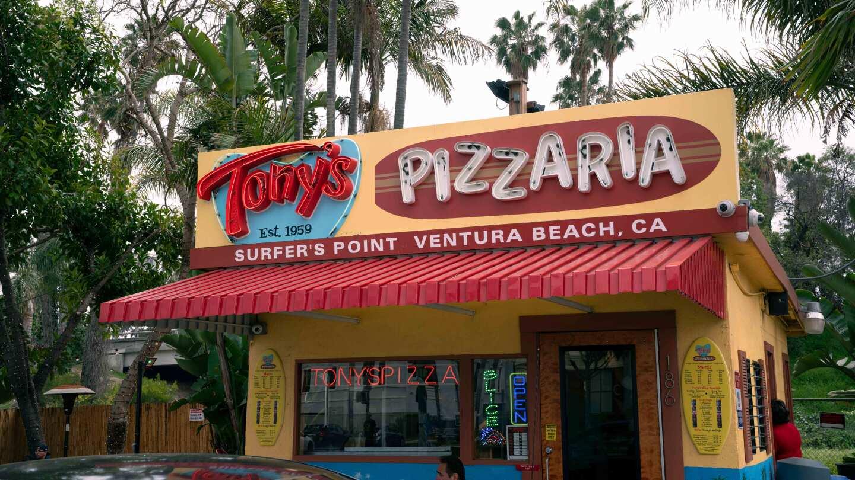 Tony's Pizzaria, Surfer's Point, Ventura