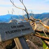 Boundary of the San Gabriel Wilderness on Three Points trail | Photo: Daniel Medina
