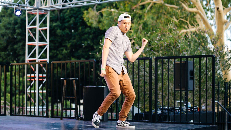 Chuck Maa returns to teach K-pop dance moves for the Music Center's Digital Dance Party on Aug. 7.   Music Center.