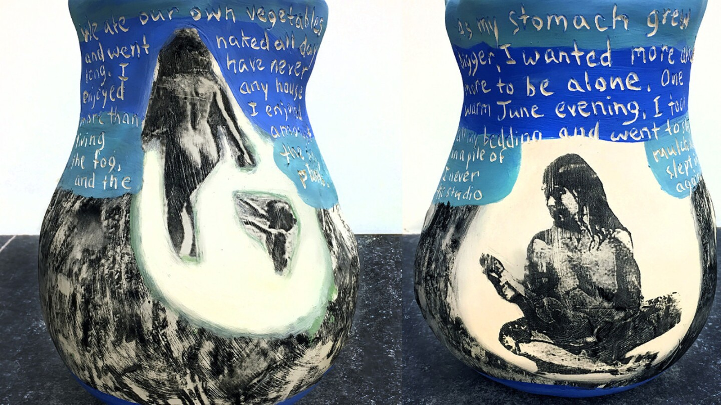 Cathy Akers vase   Courtesy of the artist