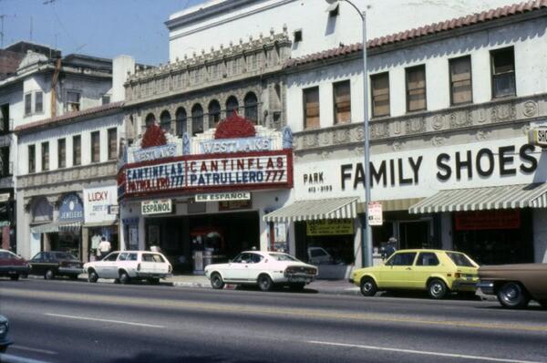 Westlake Theatre, 1978 | Marlene Laskey Collection, Los Angeles Public Library
