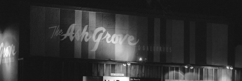 Ash Grove exterior at night | © Philip Melnick