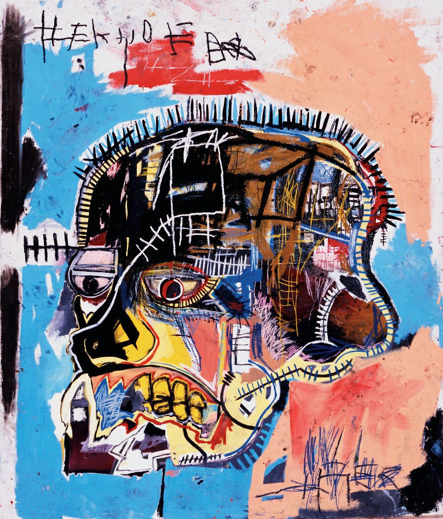 """Untitled"" by Jean-Michel Basquiat. 