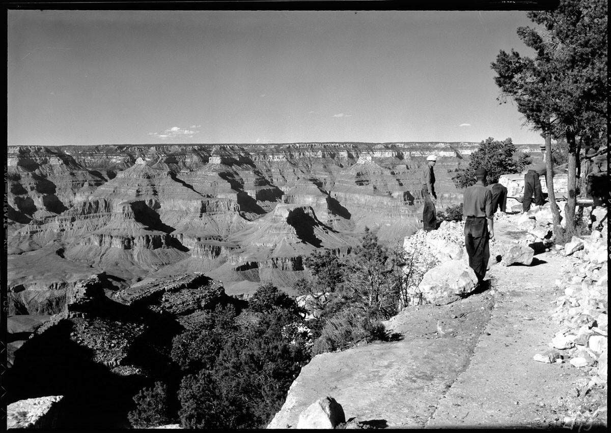 Historic photos of Grand Canyon, circa 1935