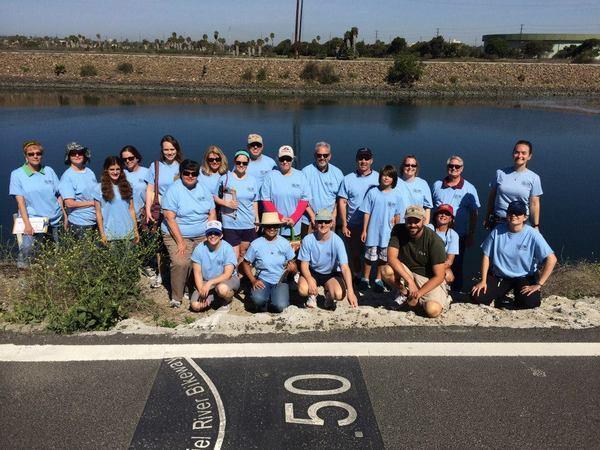 Volunteers at the Aquarium of the Pacific   Photo: Courtesy of the Aquarium of the Pacific