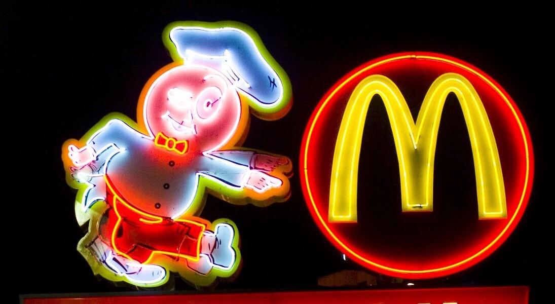 McDonalds and Speedee Logo