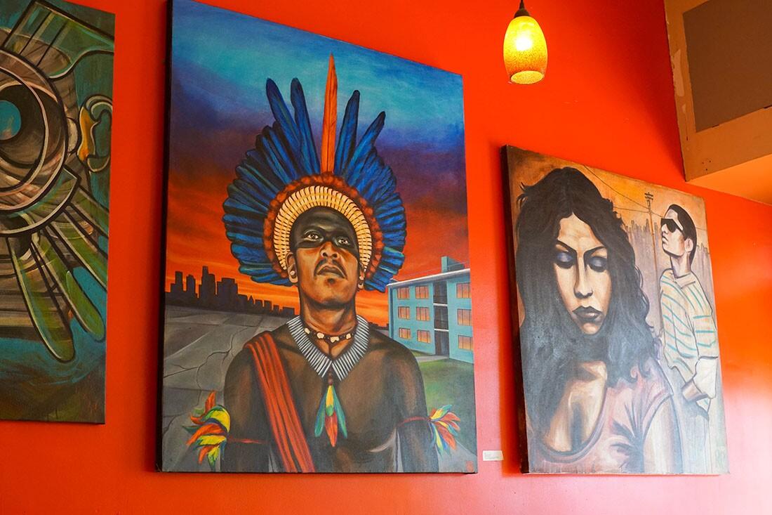 Local artists showcase their work at Primera Taza | Cynthia Rebolledo