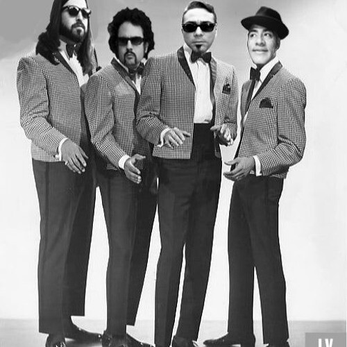 The band known as Los Yesterdays photoshopped their heads onto an old doo-wop style group.