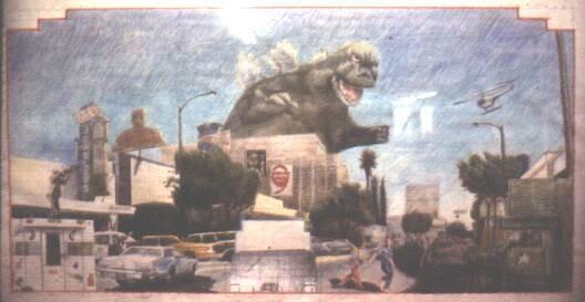 Godzilla concept I Courtesy Ron Reeder
