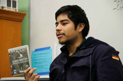 An L.A. Leadership Academy student talks about how video games connect him to his community