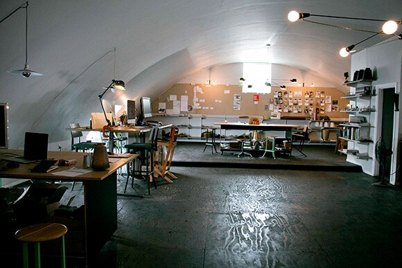 Ravenhill Studios' second floor office space. | Photo: Carren Jao.