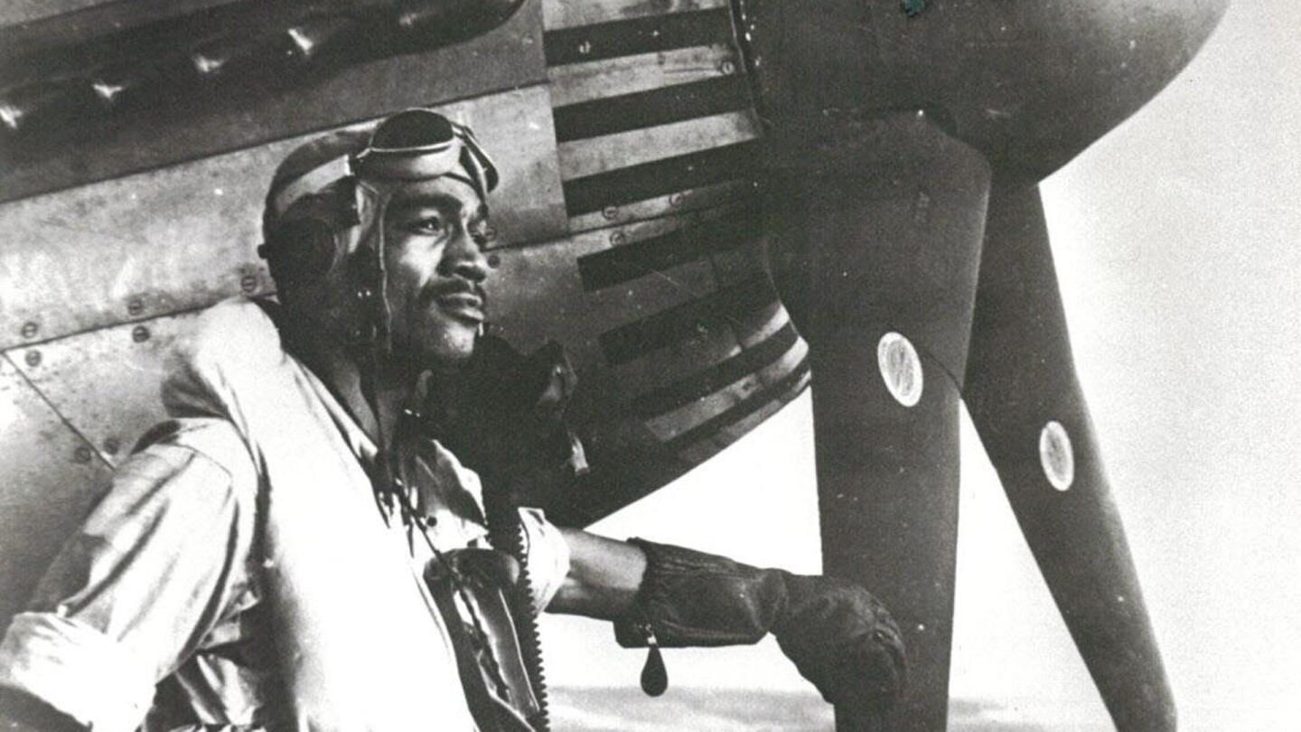 Lt.Col. Lee Archer/ Tuskegee Airman  and first and only African-American ace of World War II. | Courtesy of the U.S. Air Force