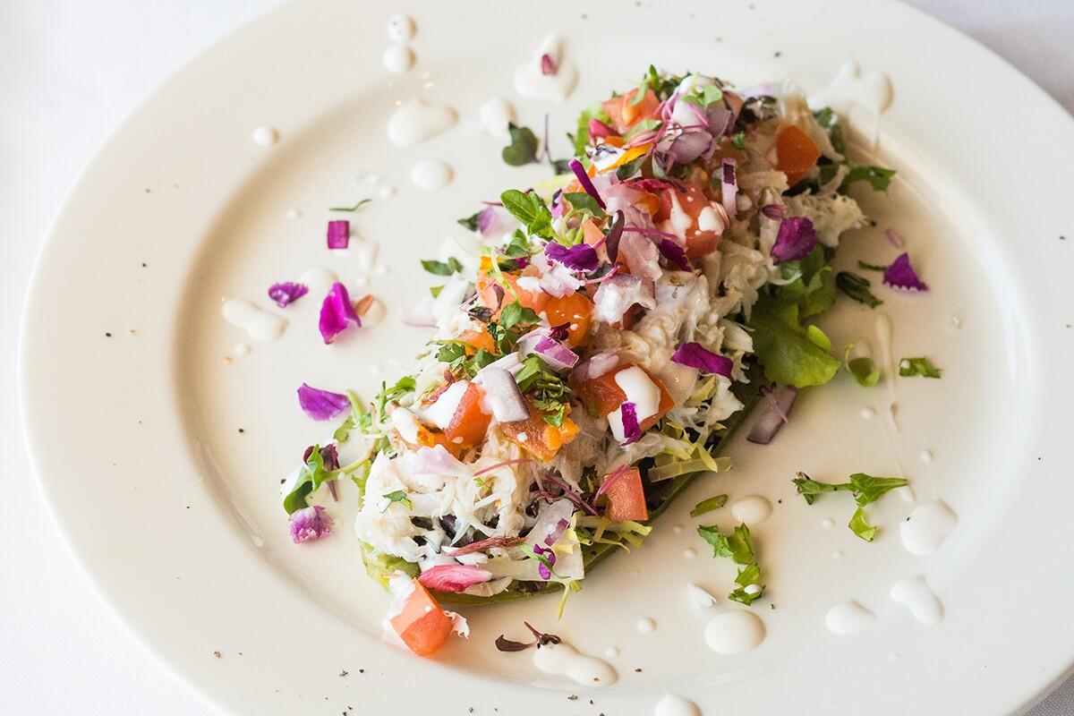 Babita's Crab Huarache De Nopal. | Staci Valentine