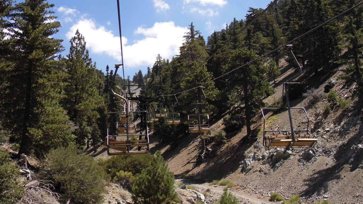 mount baldy chairlift