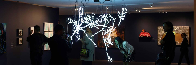 """Bridges in Time of Walls"" exhibition | Samanta Helou Hernandez"