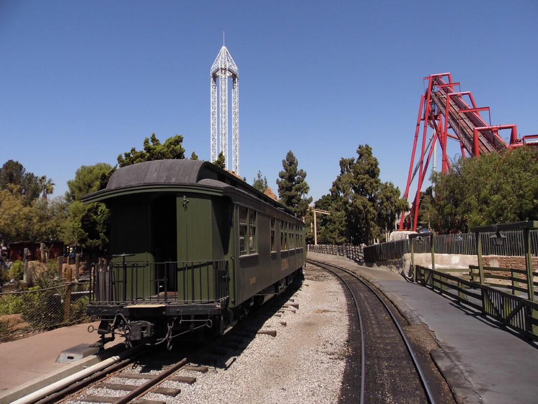 Calico Railroad, Knott's (2)