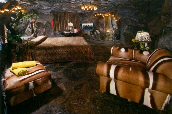 The Caveman room at the Madonna Inn in San Luis Obispo. | Photo: Courtesy of Madonna Inn.