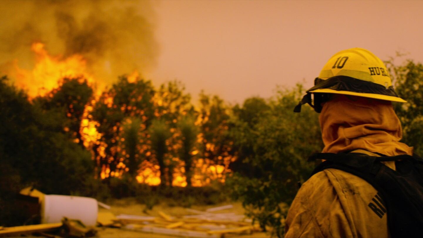 Fire Chasers: Firefighter Watches Burn