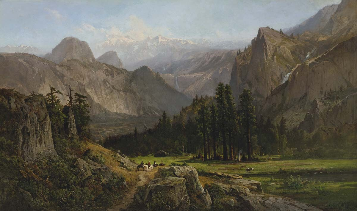 William Keith (1839-1911): Yosemite Valley (undated)