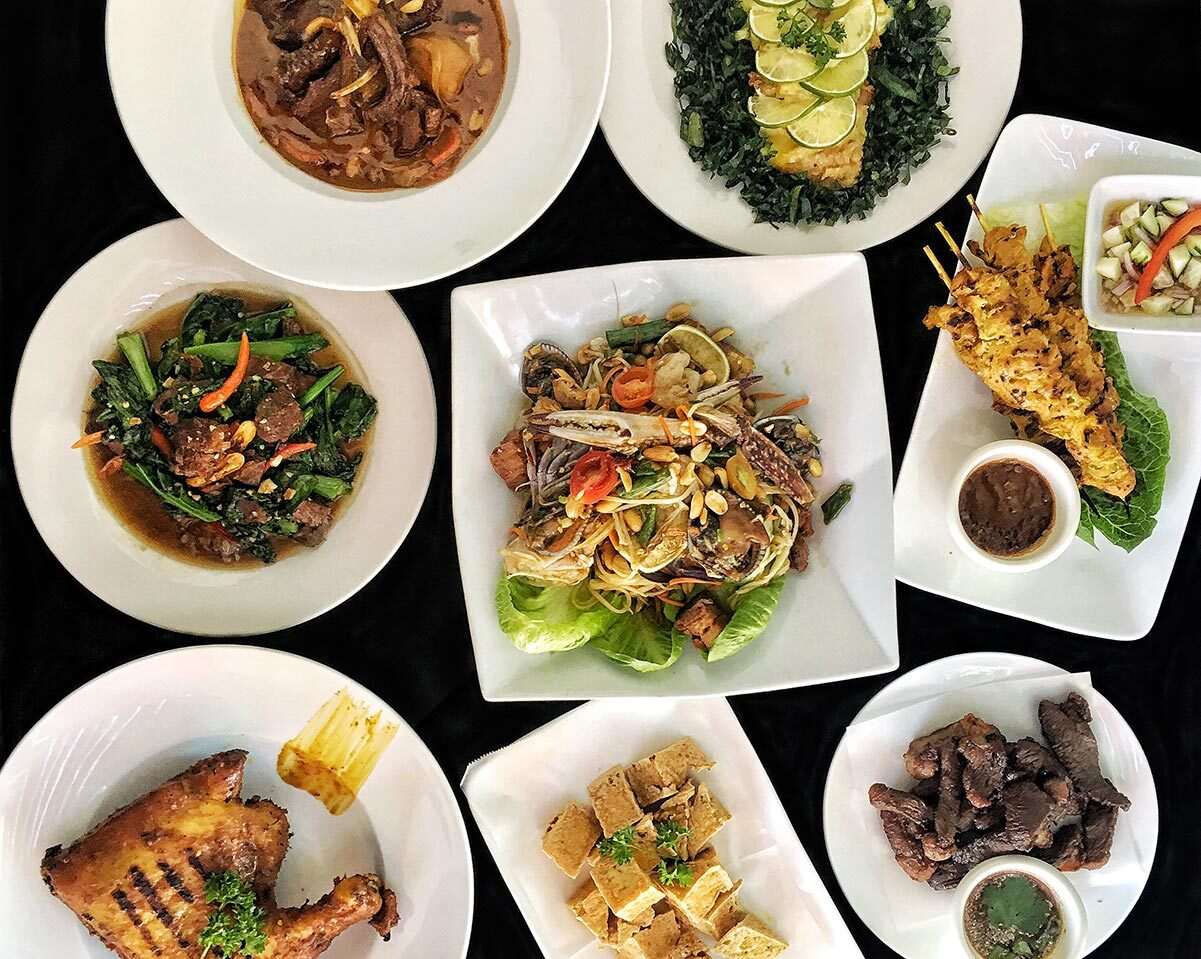 Dishes from Noree Thai | Noree Thai on Beverly