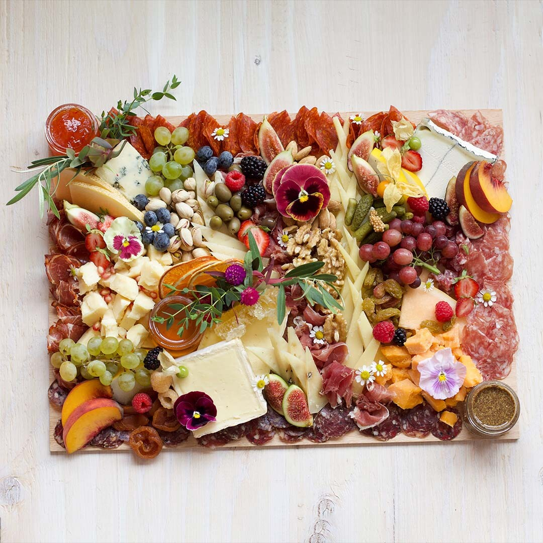 One of Lady & Larder's charcuterie board options | Courtesy of Lady & Larder