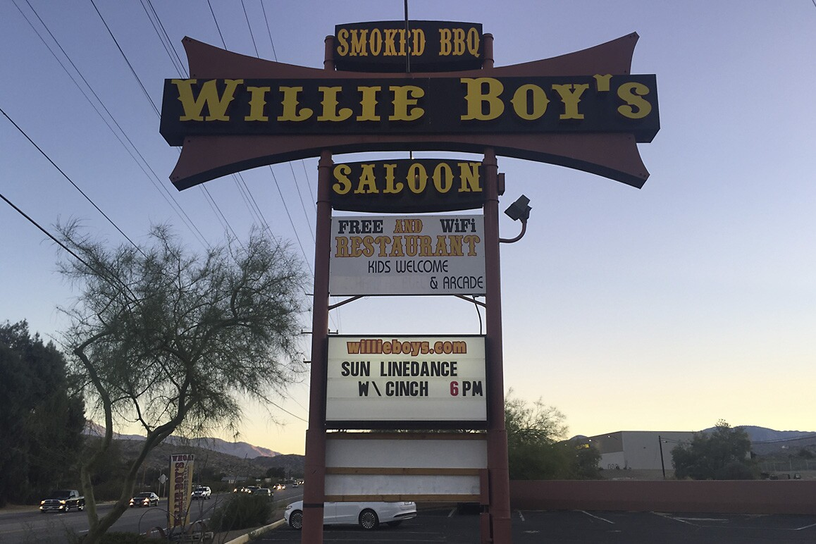 Willie Boy's Saloon
