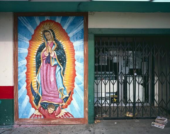 Storefront Mural in Santa Ana