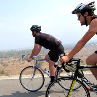 Biking at Santa Fe Dam Recreational Area