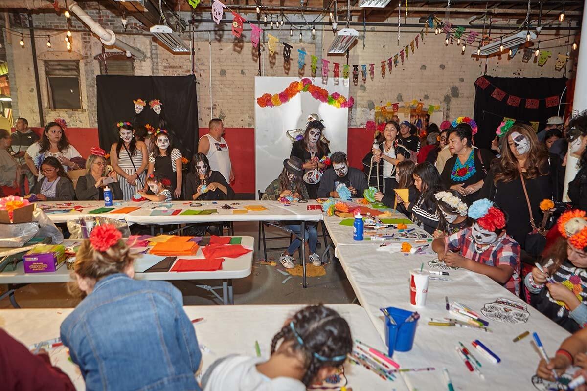 A workshop during Día de los Muertos celebration in 2019  | Pablo Aguilar