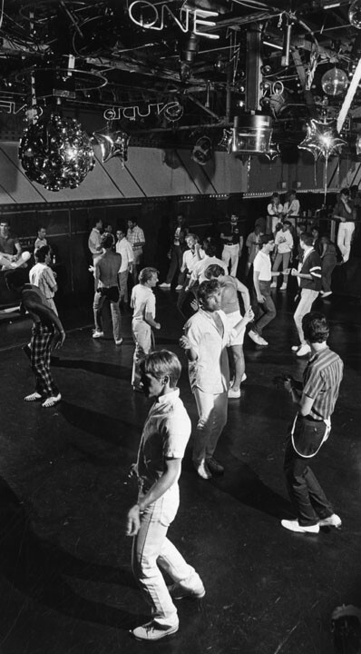 Dancing at Studio One, West Hollywood, 1986