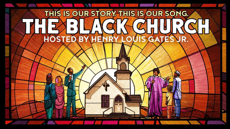 """The Black Church"" Key Art."