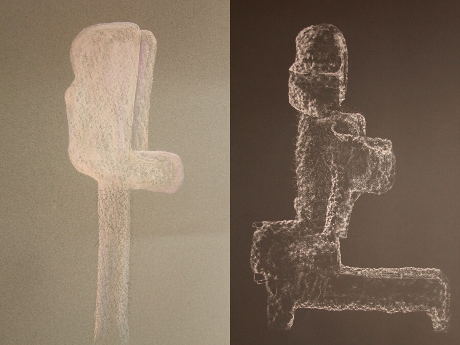 Conceptual drawings by Charles Long. | Images: Courtesy of the artist.