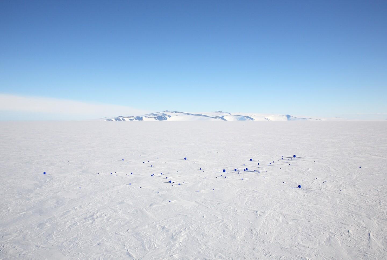"""Lita Albuquerque, """"Stellar Axis: Antarctica,"""" 2006"""