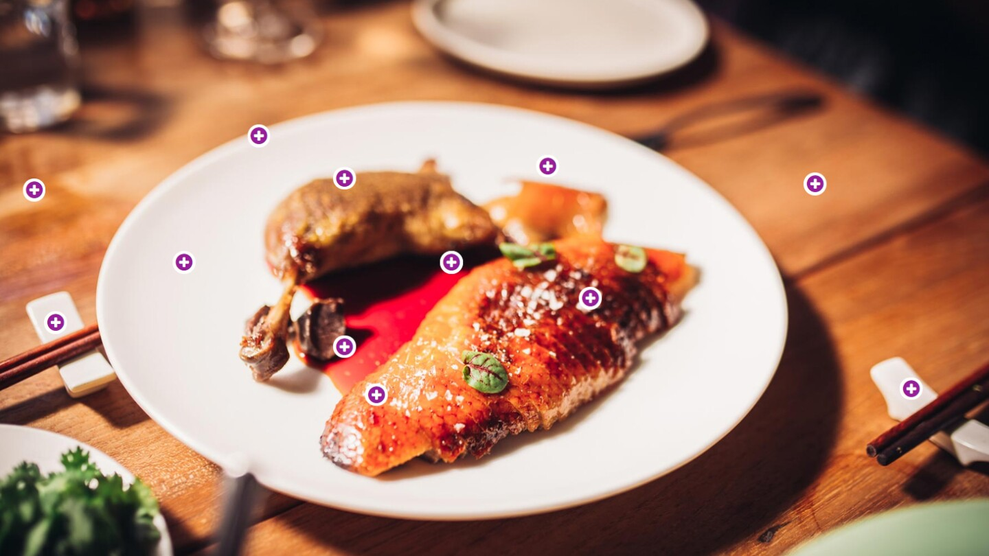 A Peking Duck dish at Mr. Jiu's | Antonio Diaz for hotspot