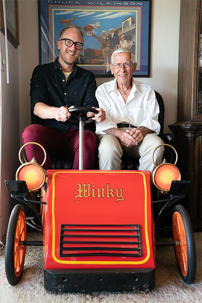 Taking a ride on the Bob Gurr-designed fire truck | Katie Noonan