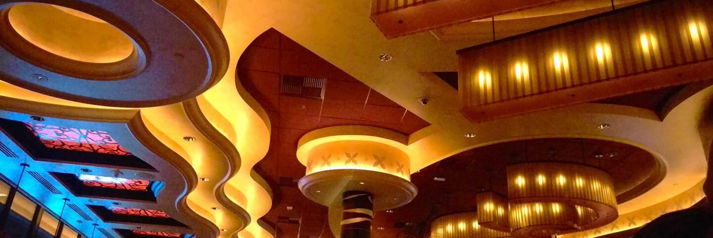 Cheesecake Factory ceiling. | Jenny Aleman-Zometa