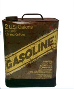 Gasoline Can, Jo Babcock for Common Tread. Courtesy of Begovich Gallery.