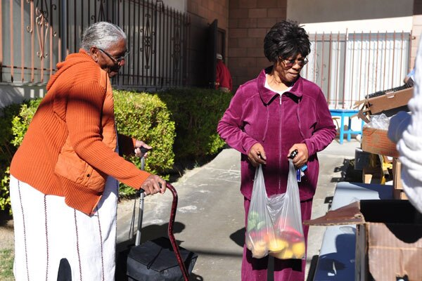 For seniors, Senior Markets are a safe and easy way to access fruits and vegetables on a regular basis. I Photo by: Christy Porter
