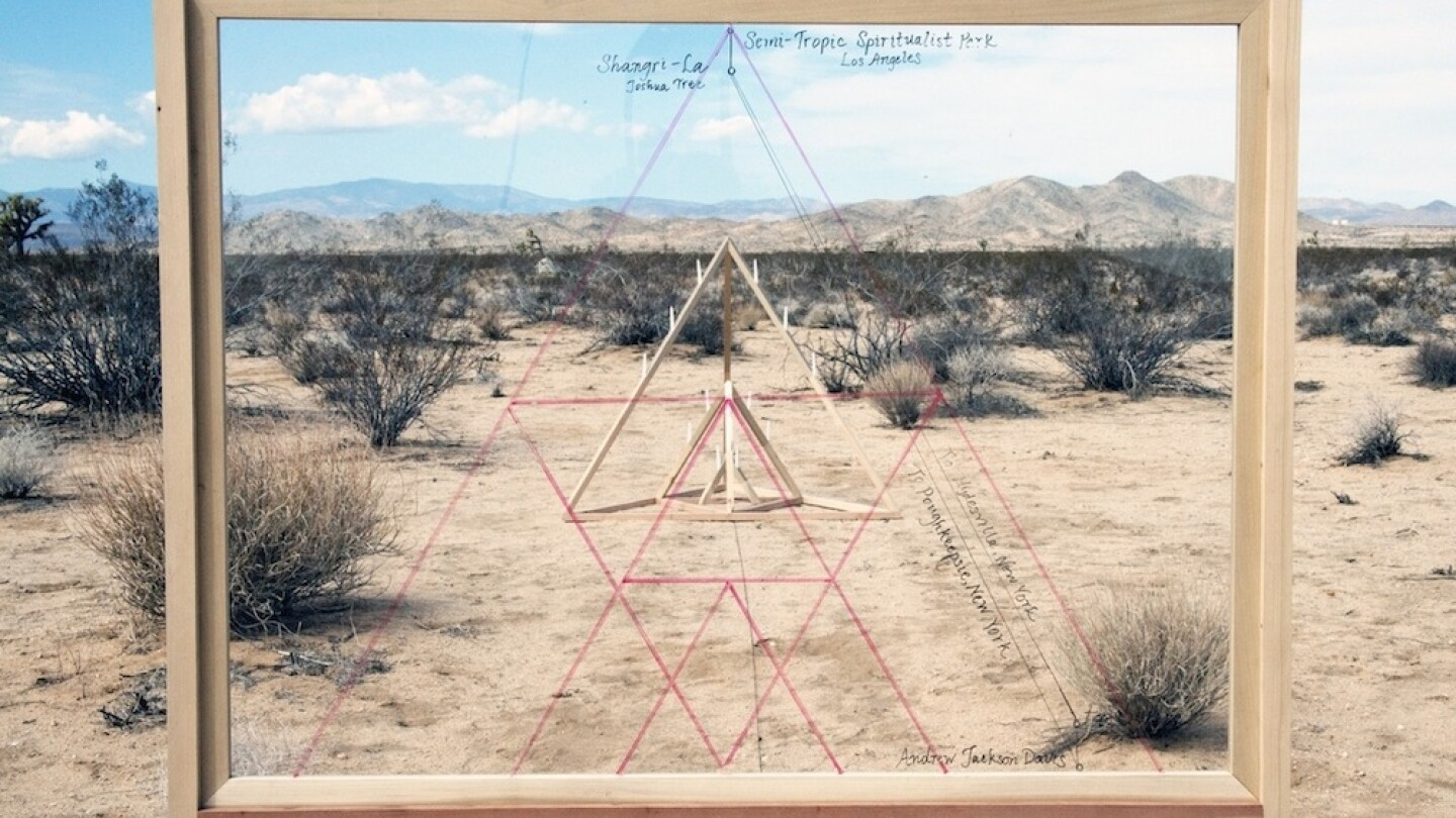 """""""Semi-Tropic Spiritualists"""" is a project by artists Astri Swendsrud and Quinn Gomez-Heitzeberg"""