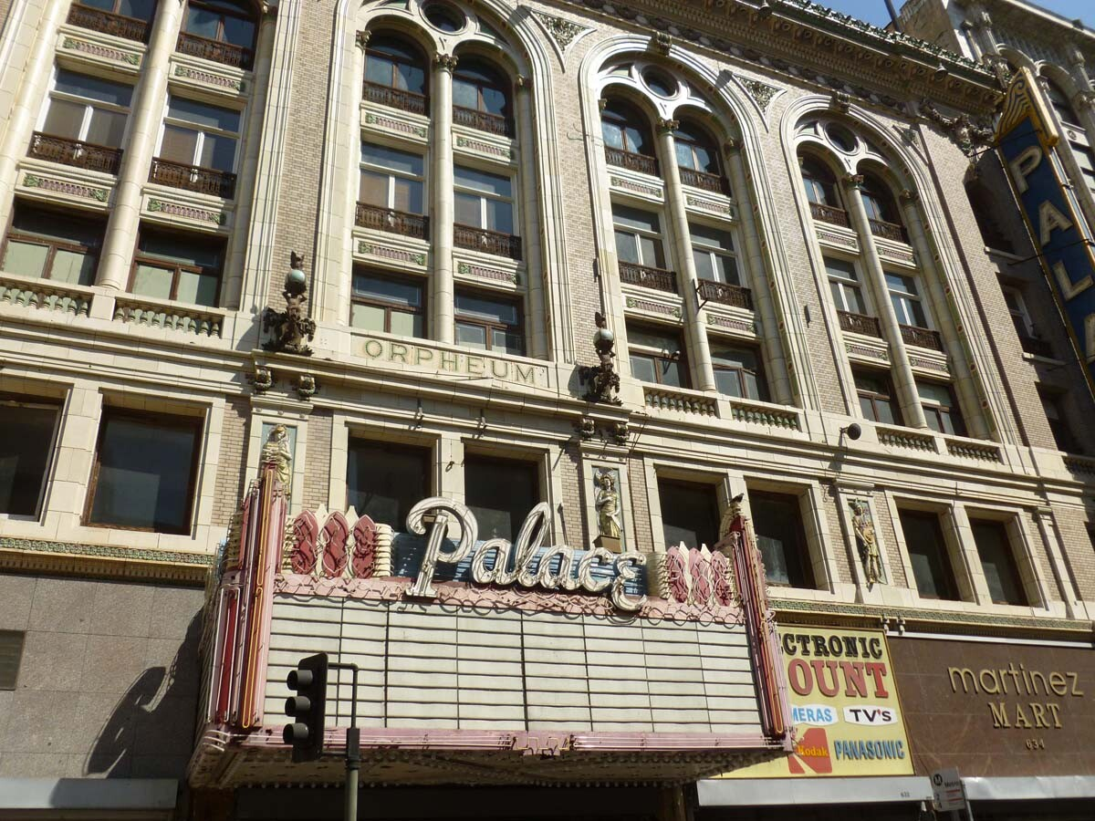 The Palace Theatre features a Renaissance Revival design. | Sandi Hemmerlein