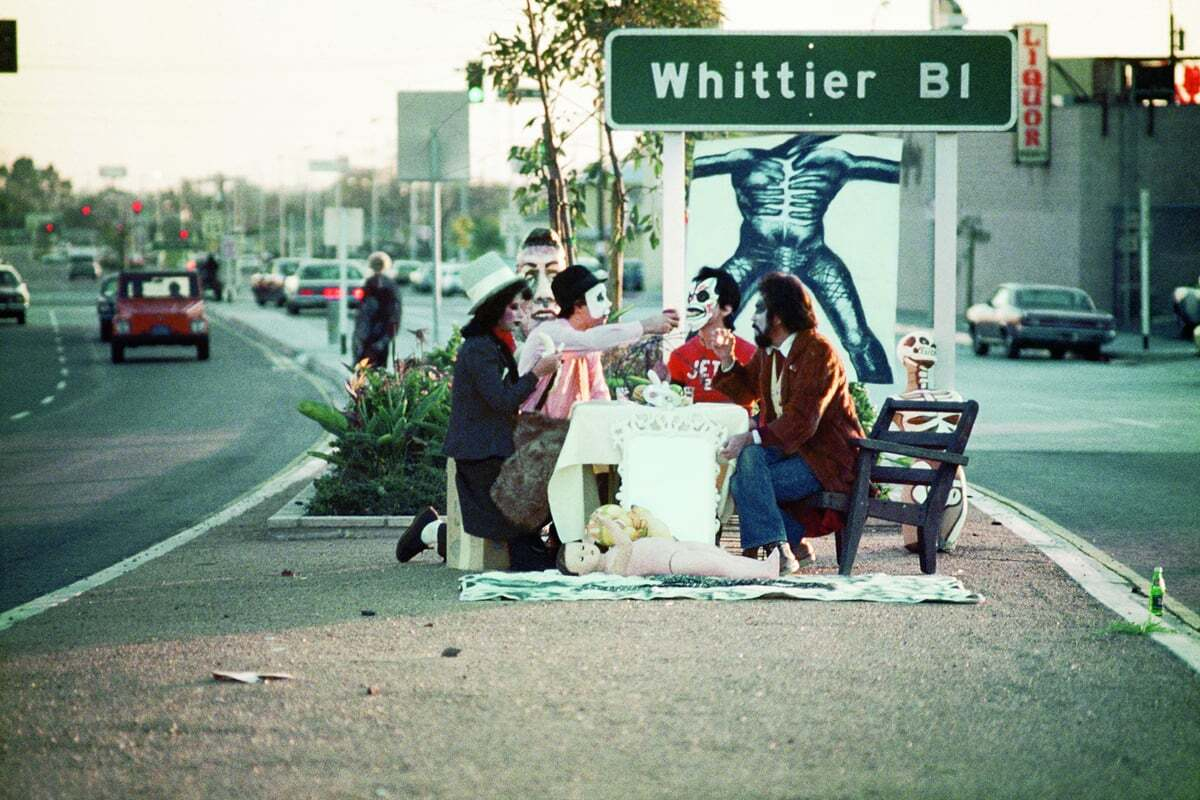 First Supper (After A Major Riot) ©1974 with ASCO | Harry Gamboa Jr.