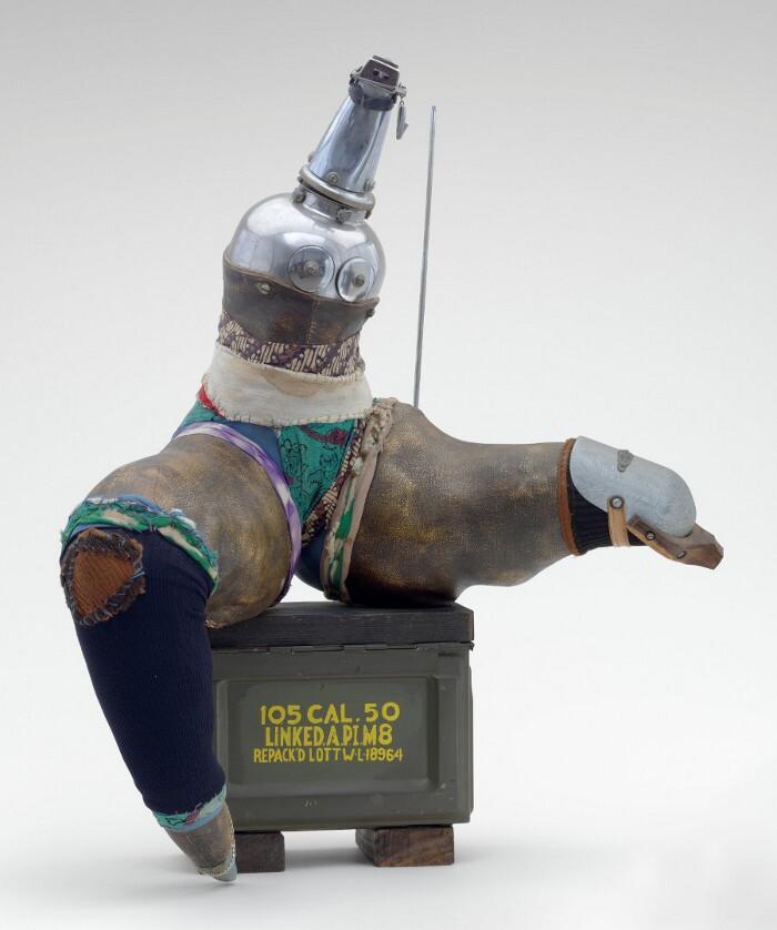 John Outterbridge, Broken Dance, Ethnic Heritage Series, c. 1978-82. Courtesy of the artist and Jack Tilton.