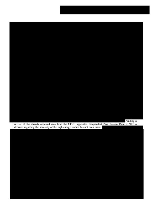 """One of the documents featured in the art exhibit &Redacted: Transparency, Democracy and Nuclear Power.""""   David Weisman"""