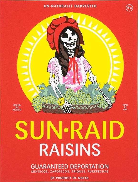 """Ester Hernandez, """"Sun Raid"""""""