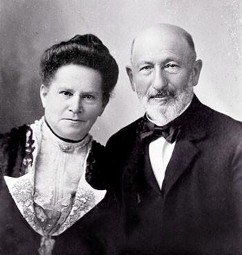 Sarah and Harris Newmark, ca. 1900