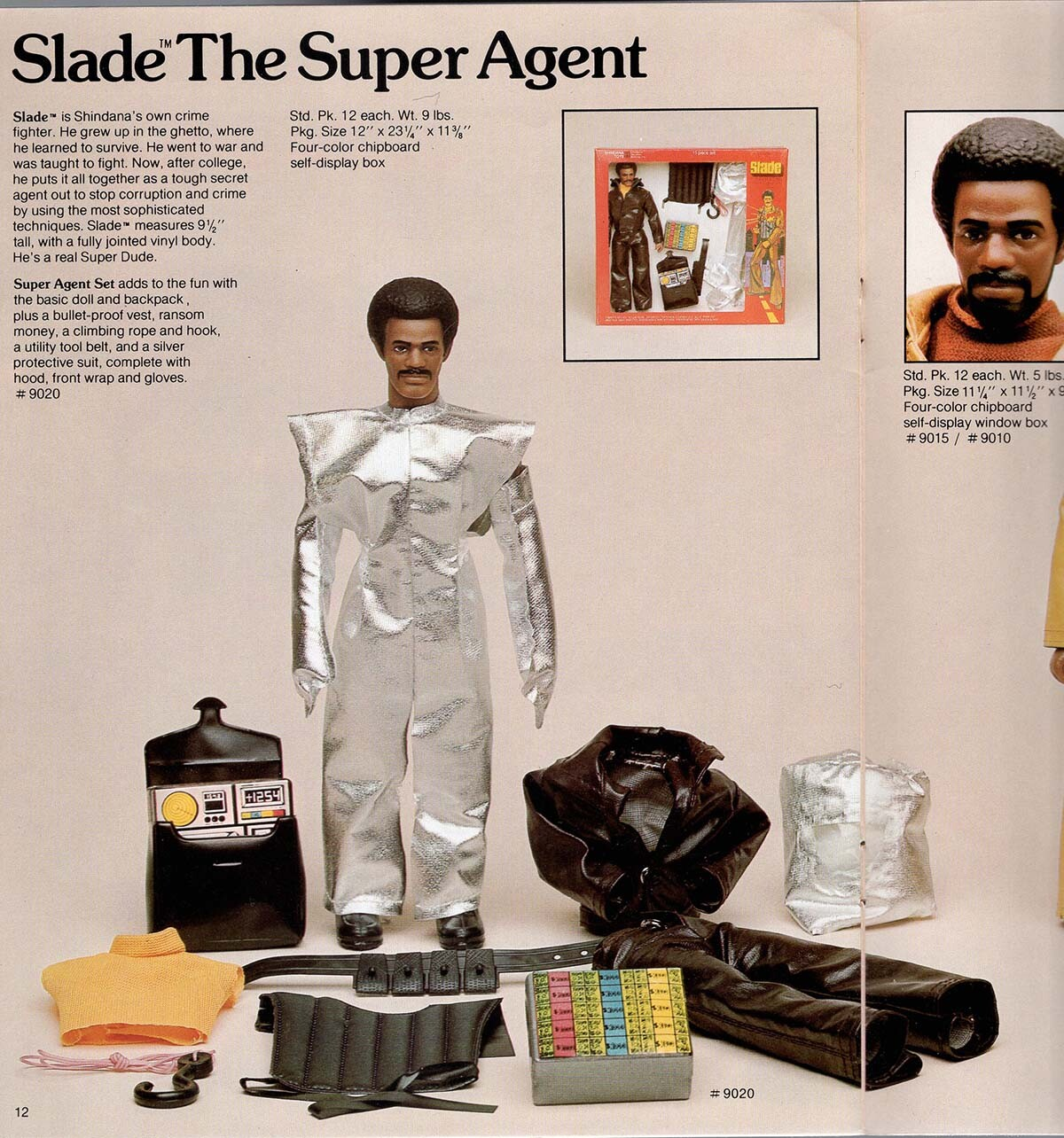 Slade the Super Agent doll