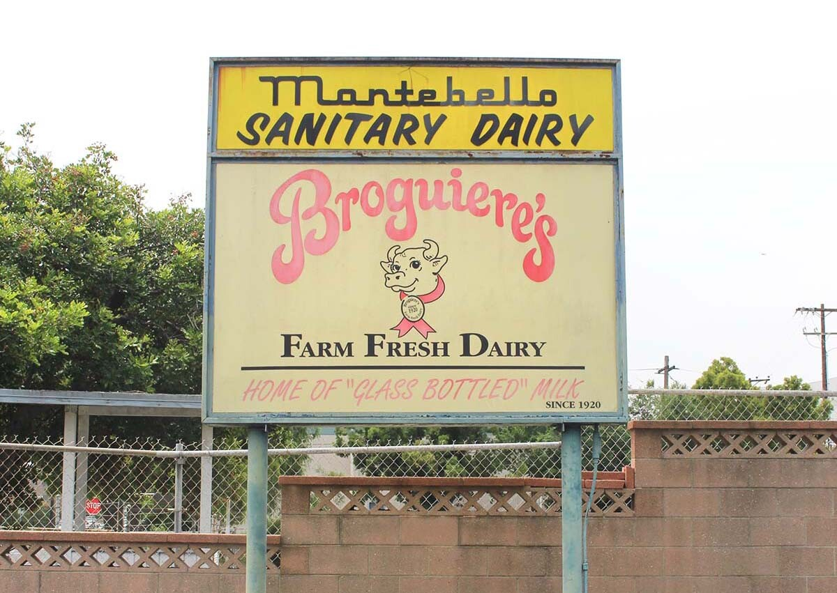 """The term """"sanitary"""" was a buzzword for dairies in the early 1900s, according to Broguiere. 
